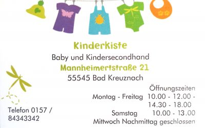 Kinderkiste Baby und Kindersecondhand